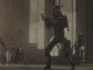 """We are the Death Watch, descendents of the true warrior faith all Mandalorians once knew."""