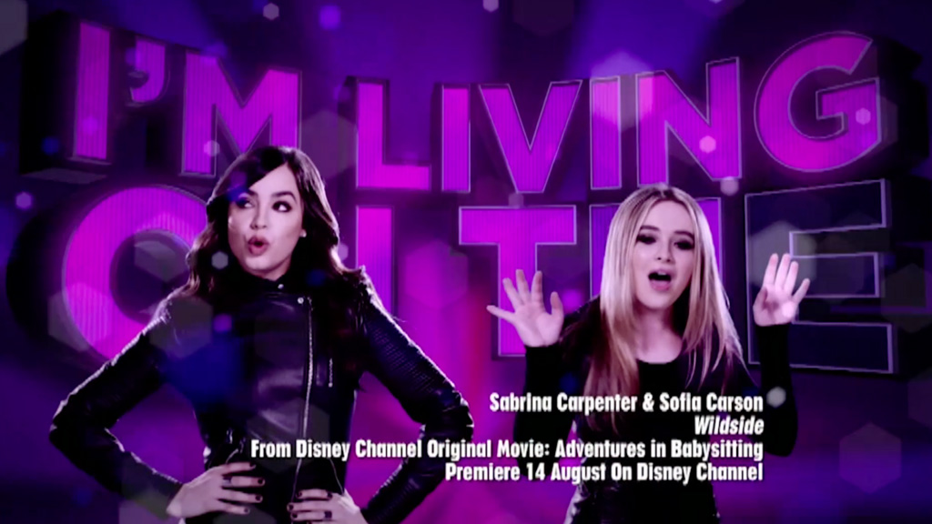 Adventures in Babysitting | Wildside by Sabrina Carpenter & Sofia Carson (With Lyrics)