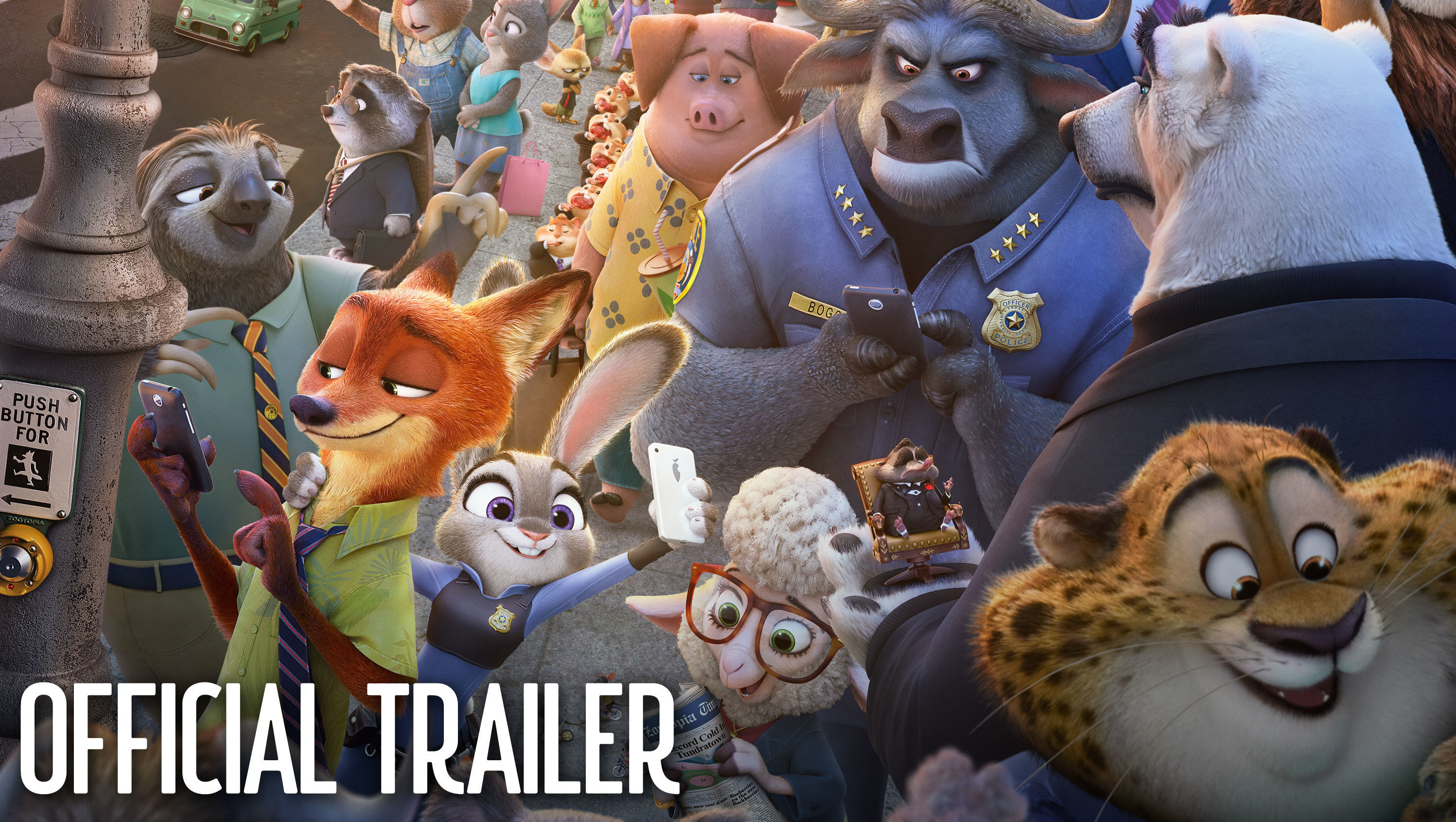 Zootopia Official Trailer #2
