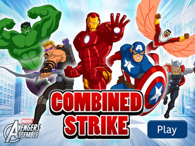 Avengers Assemble: Combined Strike Marvel's Avengers Assemble Products