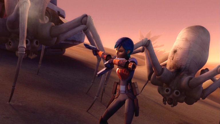 """Check out Out Review [WITH SPOILERS] of Star Wars Rebels Season 2 Episode 20: """"The Mystery of Chopper Base."""""""