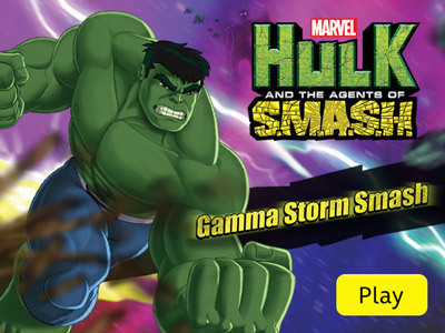 Hulk and the Agents of S.M.A.S.H. – Gamma Storm Smash Marvel's Hulk and the Agents of S.M.A.S.H