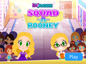 Liv And Maddie Squad-A-Rooney