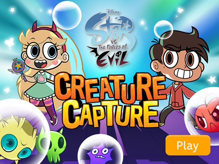 New! Star vs. the Forces of Evil – Creature Capture
