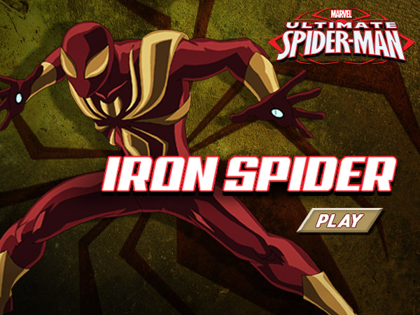 Ultimate Spider Man Iron Spider
