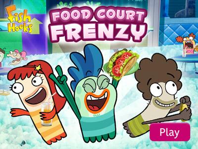 Fish Hooks : Food Court Frenzy