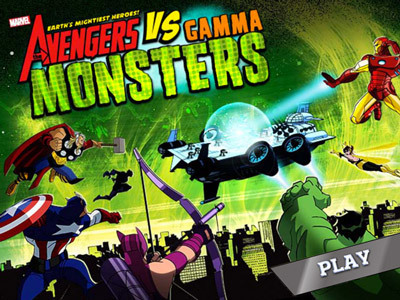 The Avengers vs. Gamma Monsters The Avengers: Earth's Mightiest Heroes Products