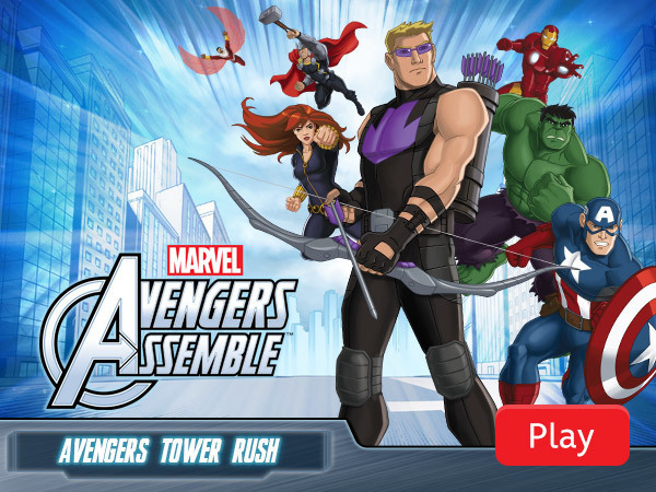 Avengers Assemble – Avengers Tower Rush Marvel's Avengers Assemble Products