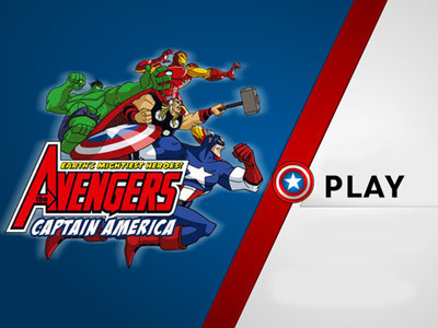 The Avengers: Captain America The Avengers: Earth's Mightiest Heroes Products