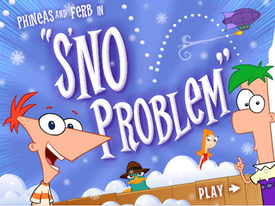 Phineas e Ferb: S'no Problem