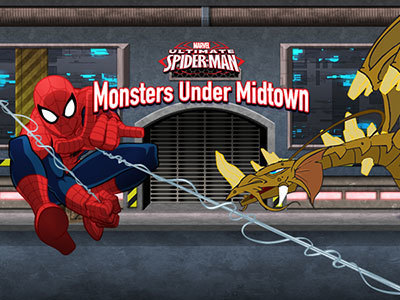 Ultimate Spider-Man: Monsters Under Midtown Ultimate Spider-Man Products